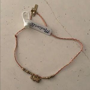 Madewell necklace brand new with dog charm